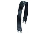 """Sommer """"Classic"""", Sattellanggurt Leder, 120 cm, schwarz"""