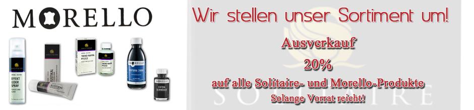 Ausverkauf Solitaire und Morello